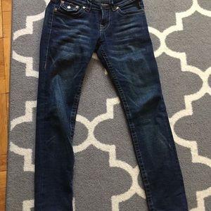 True religion women's jeans size 25